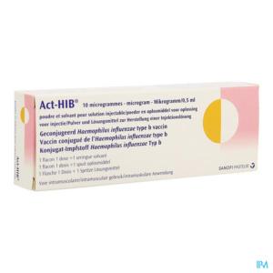 ActHIB nom créé par NYMEO agence de création de nom pour Sanofi Pasteur