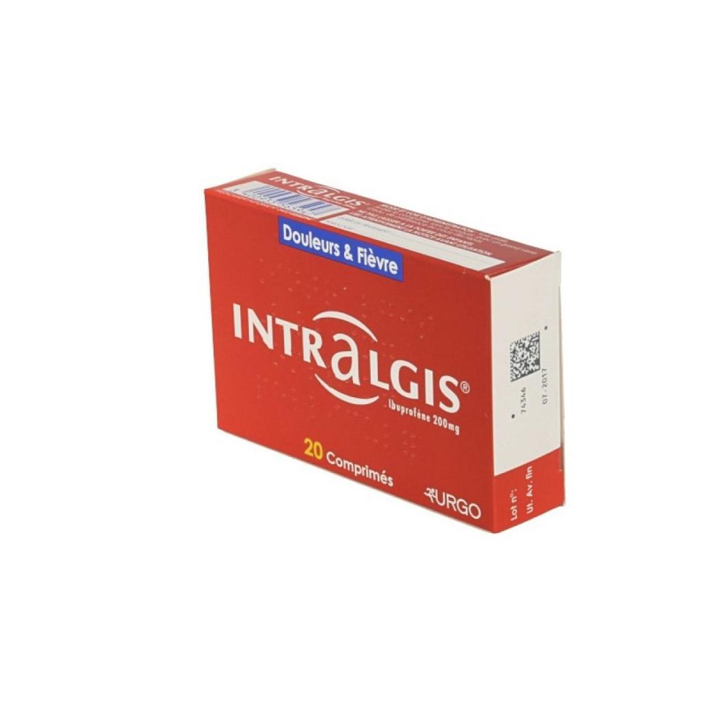 Création du nom Intralgis par Nymeo