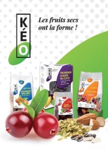 NYMEO Création de slogan Les fruits secs ont la forme